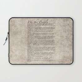 US Constitution - United States Bill of Rights Laptop Sleeve