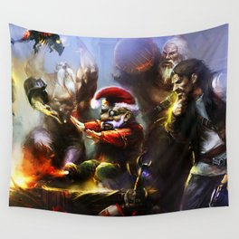 Gathered Wall Tapestry