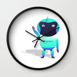 Puppet Robot Wall Clock