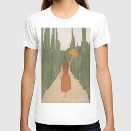 A Way Through the Cactus Field T-shirt