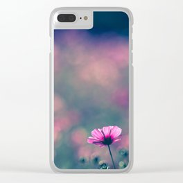 Spring Whispers Clear iPhone Case