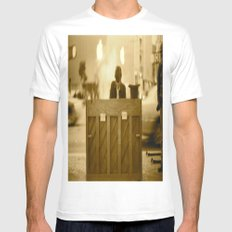 The Pianist MEDIUM White Mens Fitted Tee
