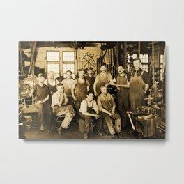 DeFrancisci & Son Macaroni Machines Metal Print