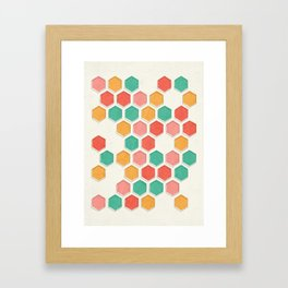 overlap Framed Art Print