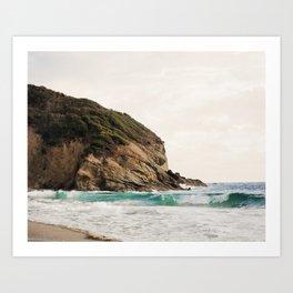 Strands Beach, Dana Point Art Print