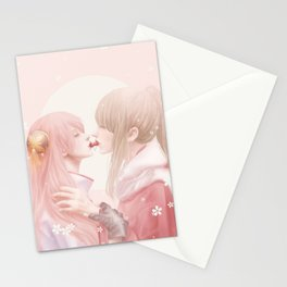 Cherry Kiss Stationery Cards