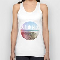 aloha Tank Tops featuring Aloha by Sunkissed Laughter