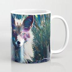 Night Fox Painting Mug