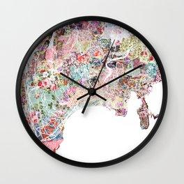 Nice map Wall Clock