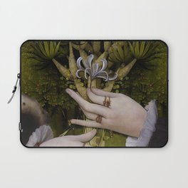 """""""The hands of Bosch and the Spring"""" Laptop Sleeve"""