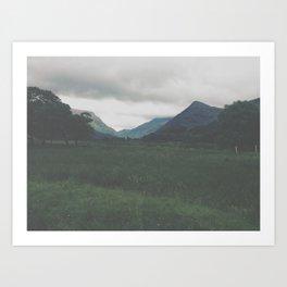 Wander. Art Print