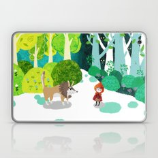 Red Riding Hood and The Wolf Laptop & iPad Skin