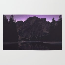 night reflection Rug