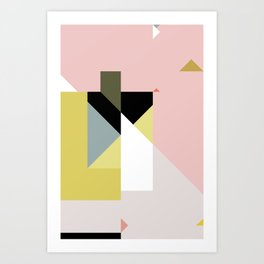 Constructivist Tune n° 1 Art Print