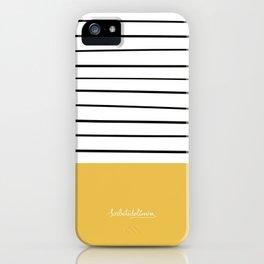 MARINERASYELLOW iPhone Case