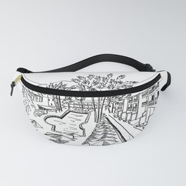 Palm Springs Sketch Fanny Pack