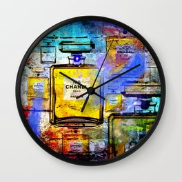 No 5 Wall Wall Clock