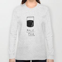 HALF FOOL Long Sleeve T-shirt
