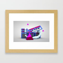 new wave pt 2 Framed Art Print