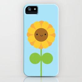 Kawaii Sunflower iPhone Case