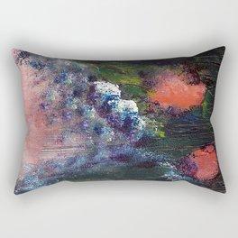 Poppy - Mixed Media Acrylic Abstract Modern Art, 2009 Rectangular Pillow