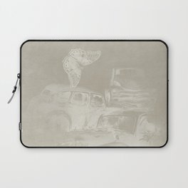 cars in secret forest Laptop Sleeve