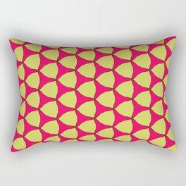 fauvism style textile print design Rectangular Pillow