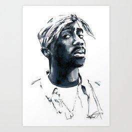 2 pac Art Print