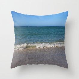 A Siesta on Siesta Throw Pillow