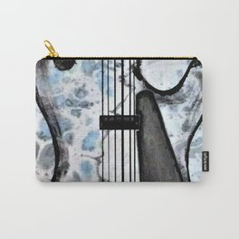 Guitar Art. Abstract Guitar. Rock and Roll. Gibson Guitar. Carry-All Pouch