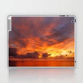 Burning Sunset Laptop & iPad Skin