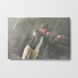 Chance the Rapper Live Metal Print