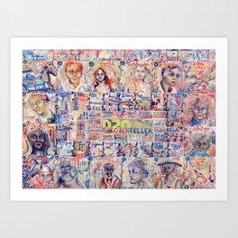 The D20 Storyteller Art Print
