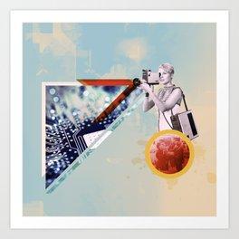 |METADATA| Art Print