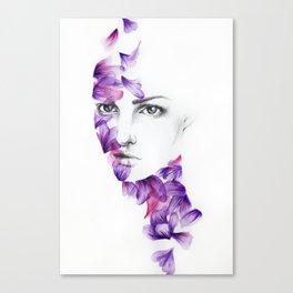 Petali Canvas Print