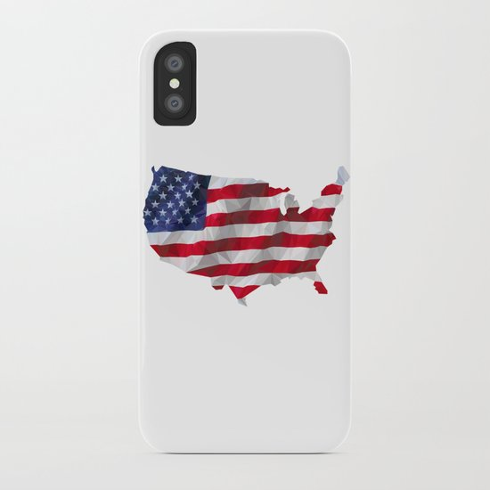 The Star-Spangled American Flag iPhone Case