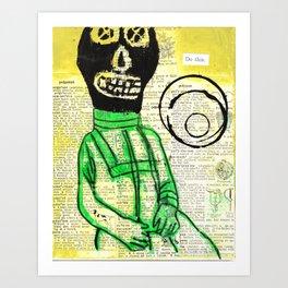 Hello Cosmomaut Art Print