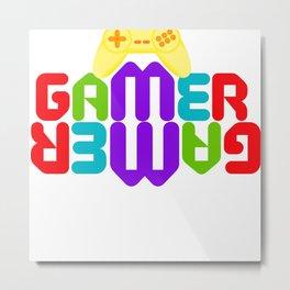 Gamers, Diversión entre amigos Metal Print