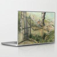 italian Laptop & iPad Skins featuring Italian Garden by Emily Dwan