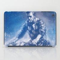 steve mcqueen iPad Cases featuring McQueen by Scott Dickson