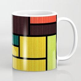 Mondrian Bauhaus Pattern #09 Coffee Mug