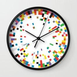 Rainbow Data Wall Clock