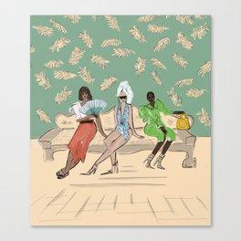 Latin American Style  Canvas Print