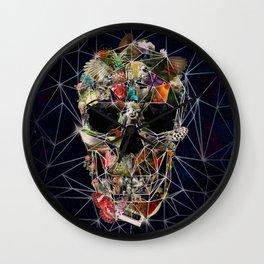 Fragile Skull Wall Clock