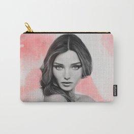 Miranda Kerr (Pencil Art) Carry-All Pouch