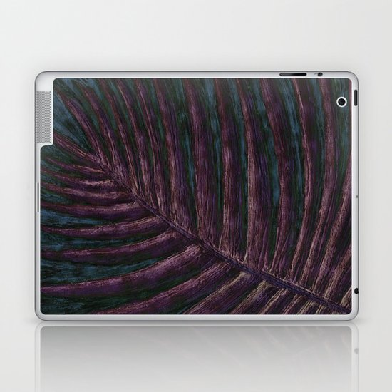 Violet Palm Laptop & iPad Skin