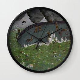 Dulce et Decorum Est Pro Patria Mori Wall Clock
