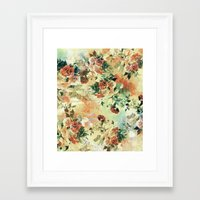 roses Framed Art Prints featuring Roses by RIZA PEKER