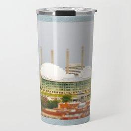 Kansas City Kauffman Center for the Performing Arts Tilt Shift Photograph Travel Mug