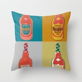 REDHOT Throw Pillow
